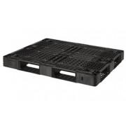 Pallet nhựa đen 1200x1100x120mm