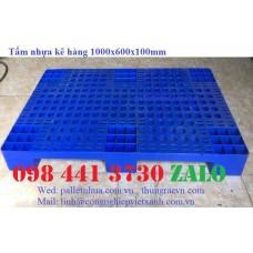 Tấm nhựa kê hàng 1000x600x100mm