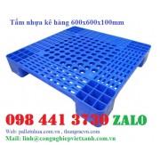 Tấm nhựa kê hàng 600x600x100mm