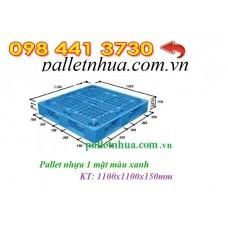 Pallet nhựa 1100x1100mmx150mm tải 3 tấn
