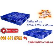 Pallet nhựa 1200x1200x150mm mới