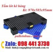 Tấm nhựa kê hàng 970x585x95mm