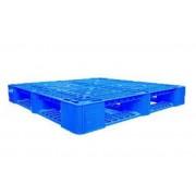 Pallet nhựa 1100x1100x150mm (tải động-tải tĩnh: 1-3 tấn)