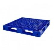 Pallet nhựa xanh - 1100x1100x125mm