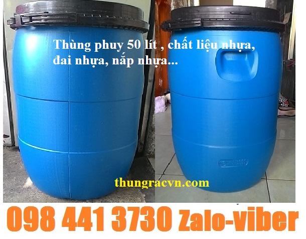 www.123nhanh.com: Phuy nhựa 30 - 50 Lít