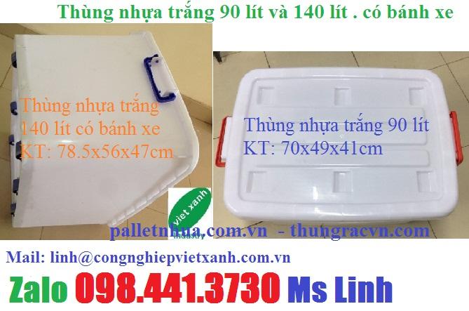 www.123nhanh.com: Thùng nhựa 30 lít 30 lít 90 lít 120 lít có bánh xe